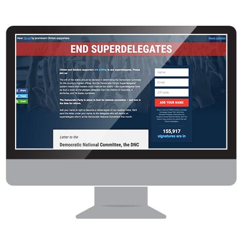 End Superdelegates Website