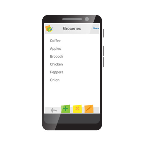 Note-ception App – List
