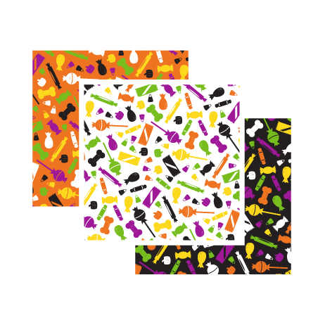 Halloween Candy Print – Tossed